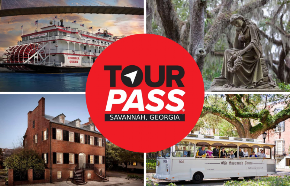 Savannah Tour Pass - 1 Pass. 1 Price. Over 30 top attractions.