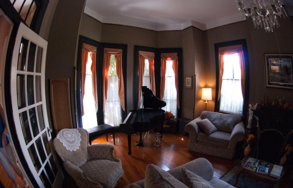Front room piano - Room with piano