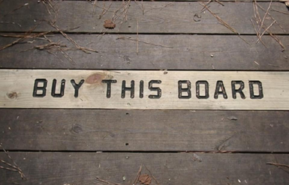 Buy A Board program - An ongoing fundraising campaign through the Friends of Oatland Island, Inc. our 501C3 support group.