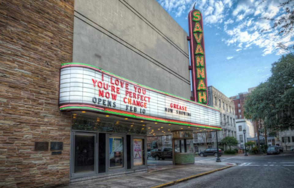The Historic Savannah Theatre