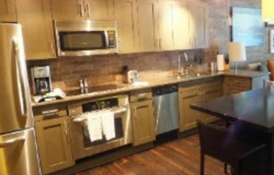 Savannah Timeshare Rentals - Kitchen inside a Savannah Timeshare