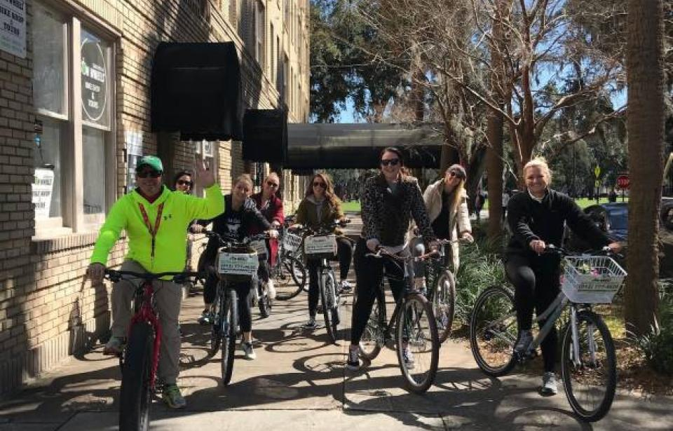 Historic District Bike Tours Daily