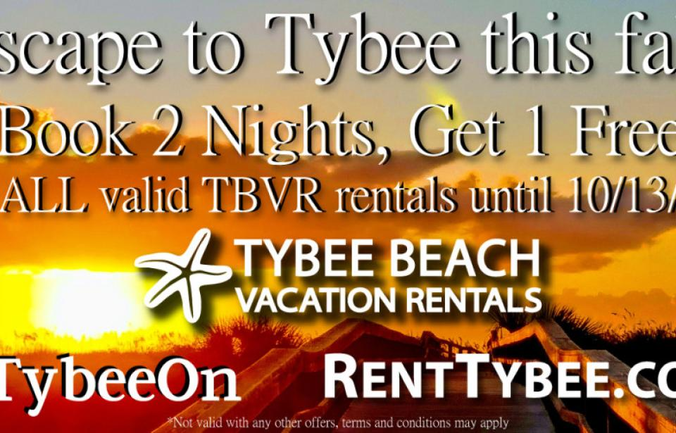 Escape to Tybee this Fall!