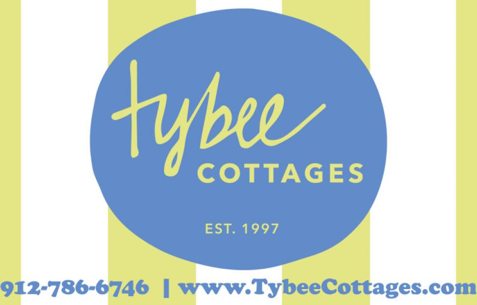 Tybee Cottages Logo - Vacation rental homes on Tybee Island - for those who really love the beach!