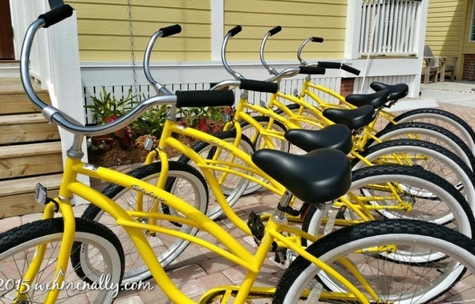 Bikes - Bikes are included with our stays.