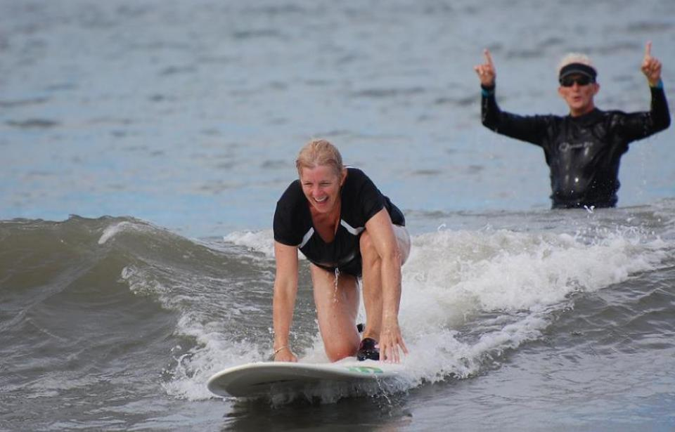 Anyone can learn to surf!