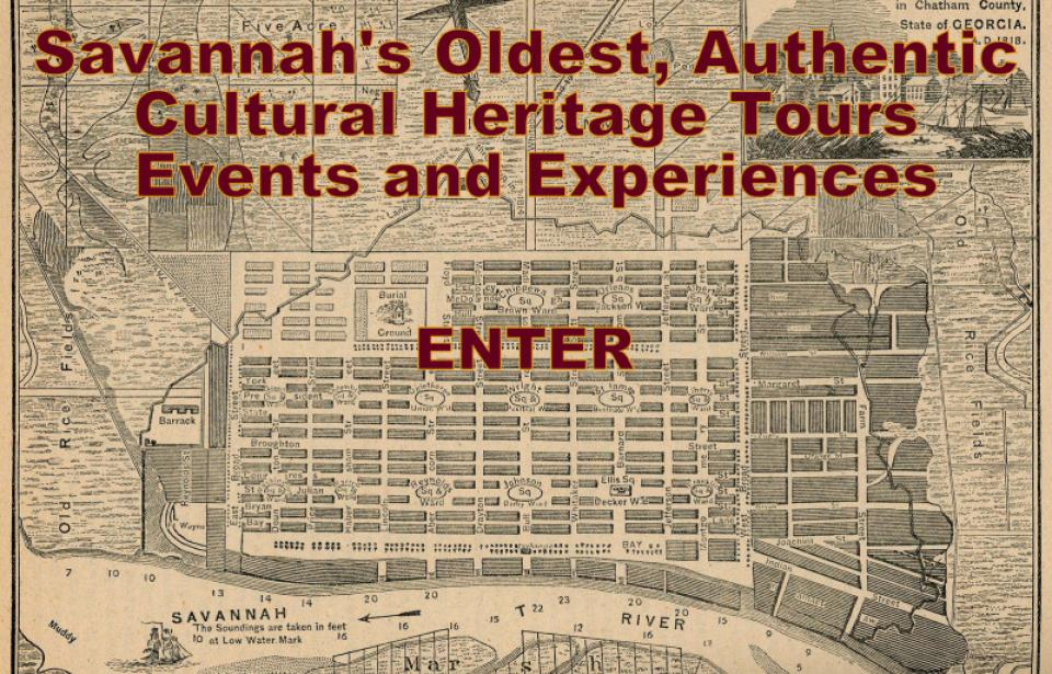 Savannah Cultural Heritage Tours and Events