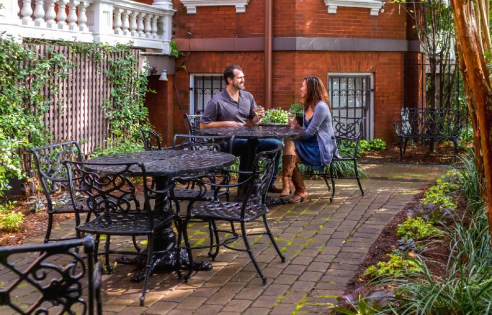 The Kehoe House - Enjoy an afternoon in our private Garden Courtyard.