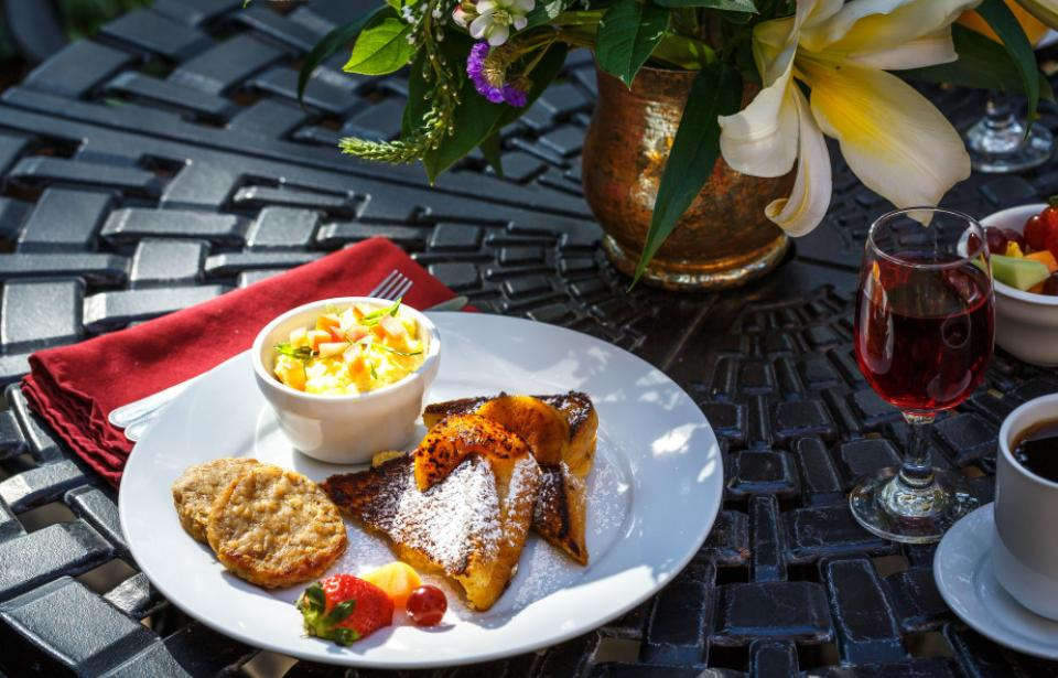 The Kehoe House - Breakfast here is made-to-order, delivered to your room on a silver tray or served outdoors on our patios.