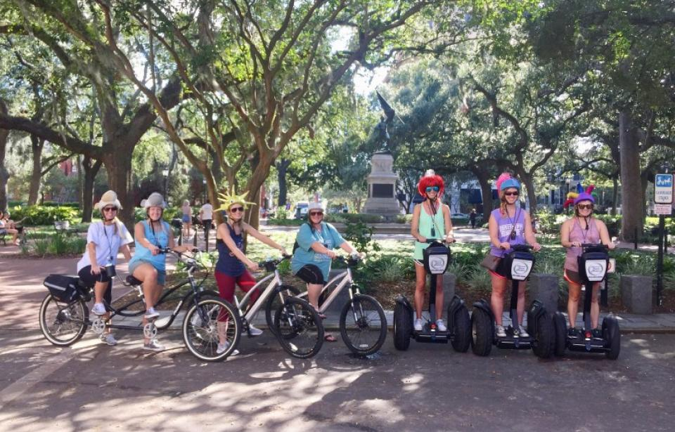Segway and E-Bike FUN! - Choose to ride a Segway or Electric Bicycle