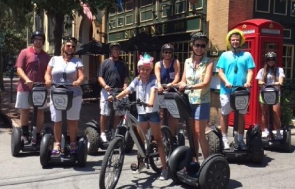 Family Fun - Choose to ride a Segway or Electric Bicycle