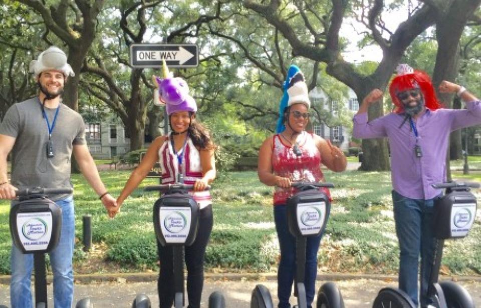 One Way to enjoy our tour.. - We don't Monkey around, there is only One Way to enjoy our tour....be Queen for a day, follow your Unicorn dreams and be a Land Shark as your Segway your way throughout the Historic District while enjoying the best way to see Savannah!