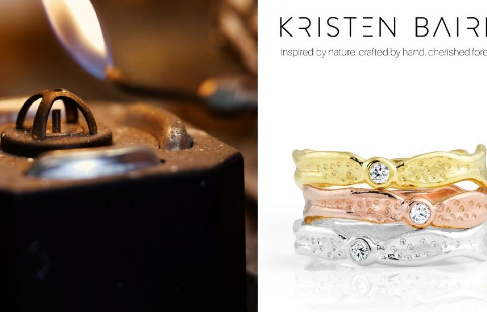 Inspired by Nature. Crafted by Hand. Cherished Forever - www.kristenbaird.com