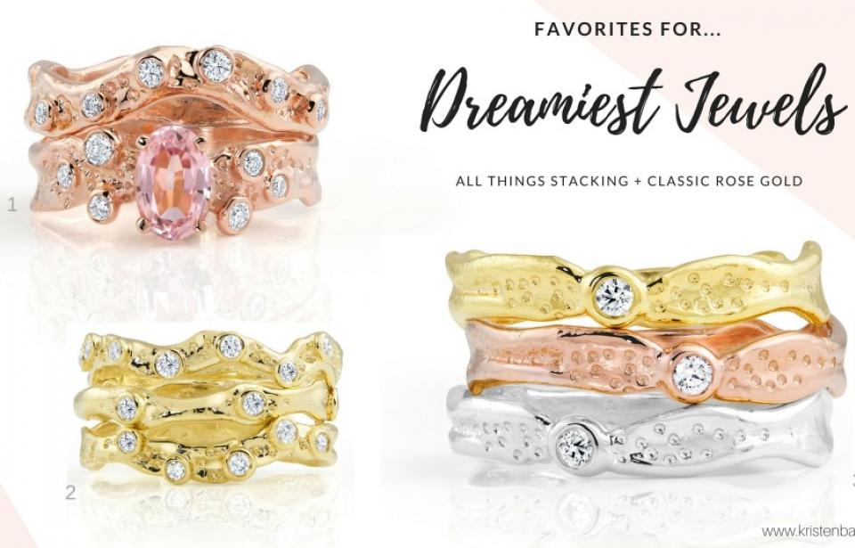 Kristen Baird's Dreamiest Jewels! - Handcrafted in Savannah. Fine Jewelry by Savannah's award-winning engagement ring designer, Kristen Baird