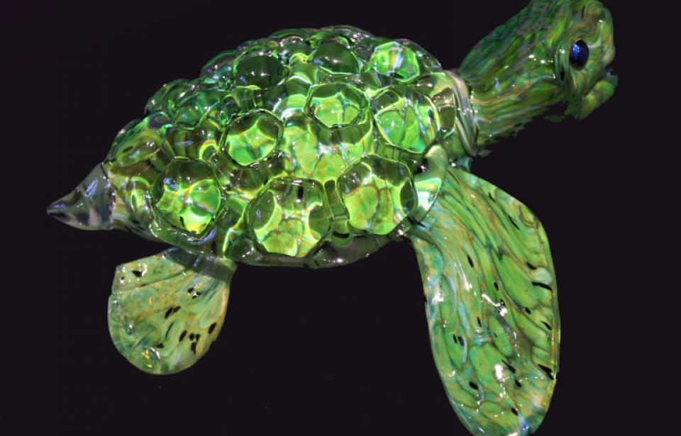 Sea Turtle - These little guys make everyone who sees them smile.  They've never met a stranger - only new friends.
