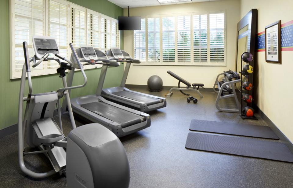Fitness Center - Keep your fitness routine intact while you're on the road in our on-site fitness center.