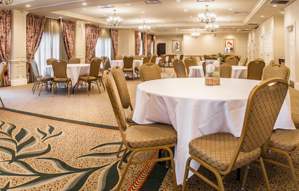 Banquet Space - Our banquet space can accommodate up to 100 guests. We even allow outside catering to make your next event even more affordable.