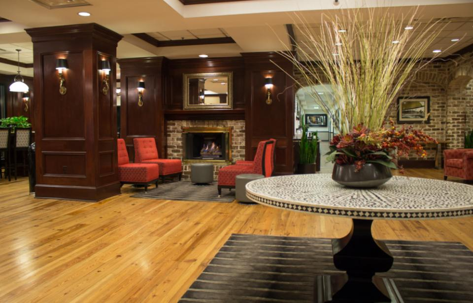 Welcome to our City - Take a step inside and relax in our beautiful lobby.
