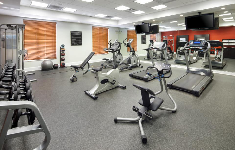 Fitness Center - Our well-equipped fitness center will help you maintain your fitness routine on the road.