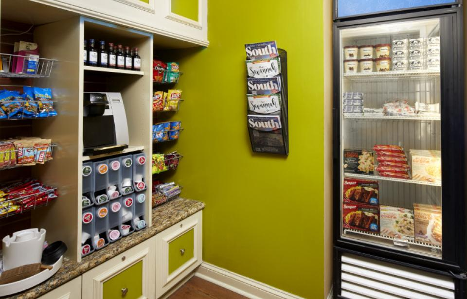 Pavillion Pantry - Forgot something? Or just looking for a late-night snack? Our 24-Hour Pavillion Pantry has you covered.