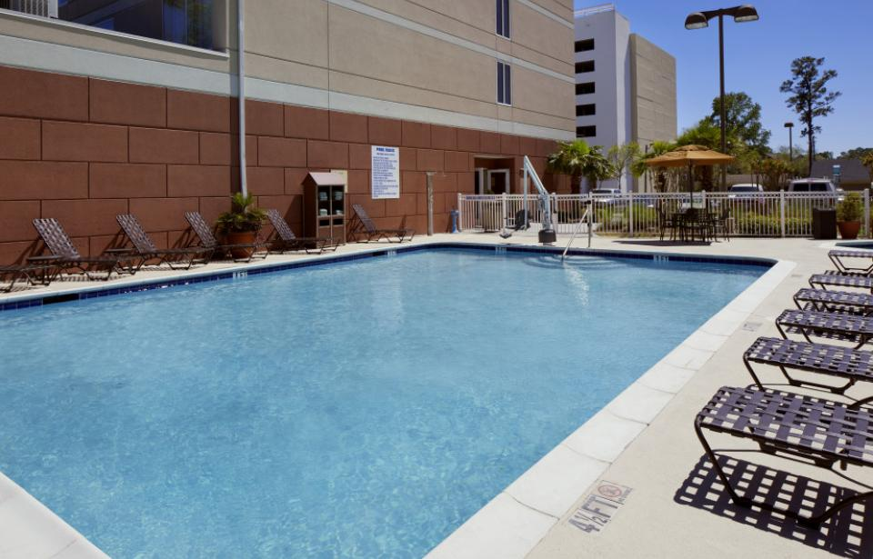Outdoor Pool - Our outdoor pool offers you the perfect cool reprieve from the summer Savannah sun.