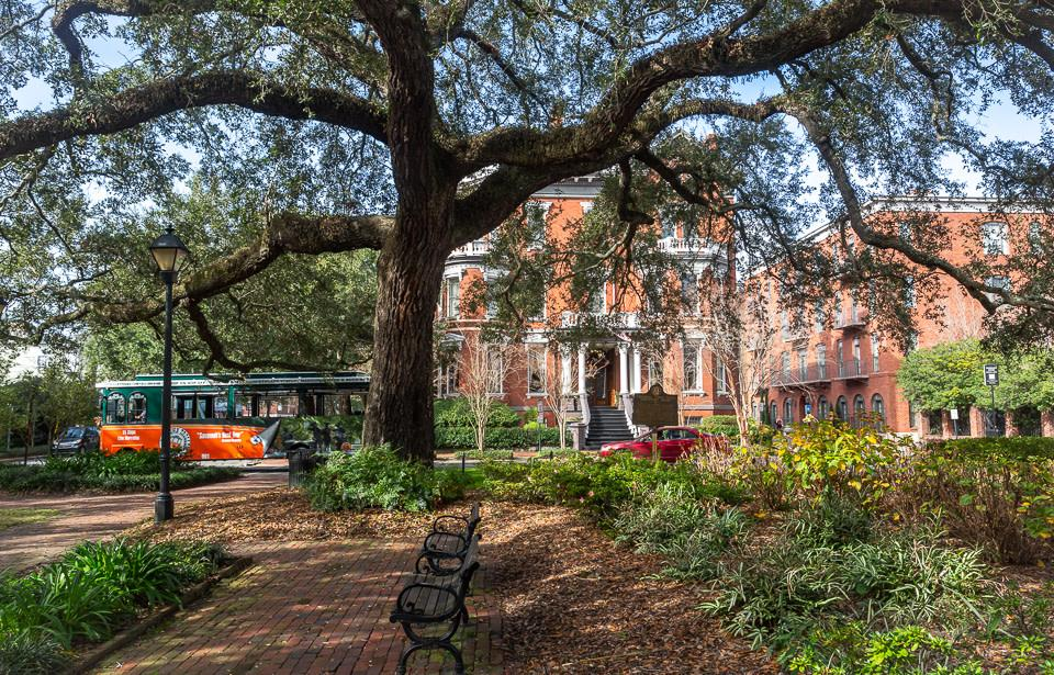 The Kehoe House - Located on Columbia Square.  The #1 hotel in Savannah.