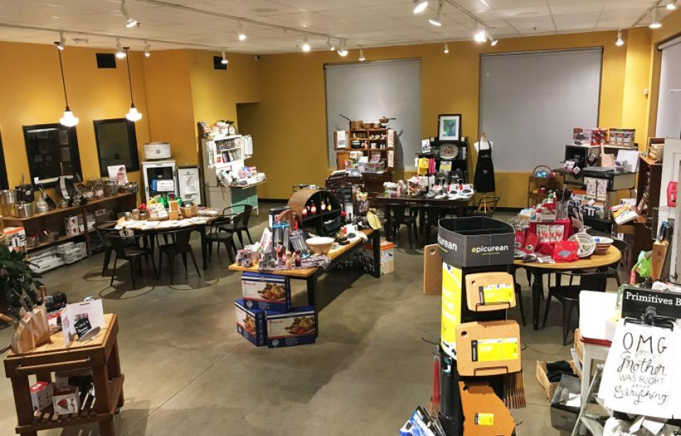 STOP BY OUR KITCHEN STORE FOR AN ARRAY OF KITCHENWARE AND CULINARY GIFTS.