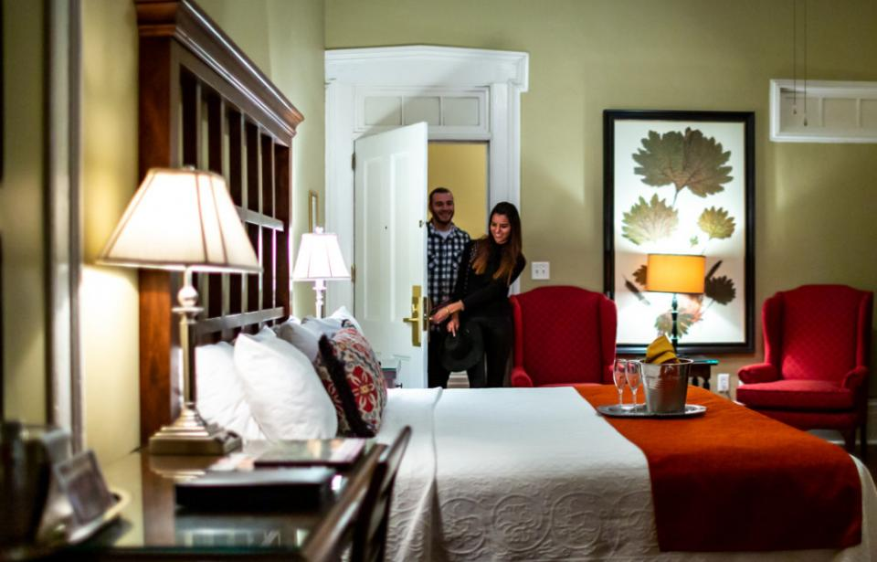 Unique and fun guest rooms, unlike any other in Savannah.