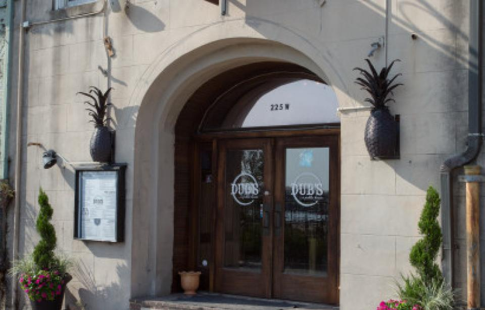 Dub's Front Entrance - We are waiting on you!