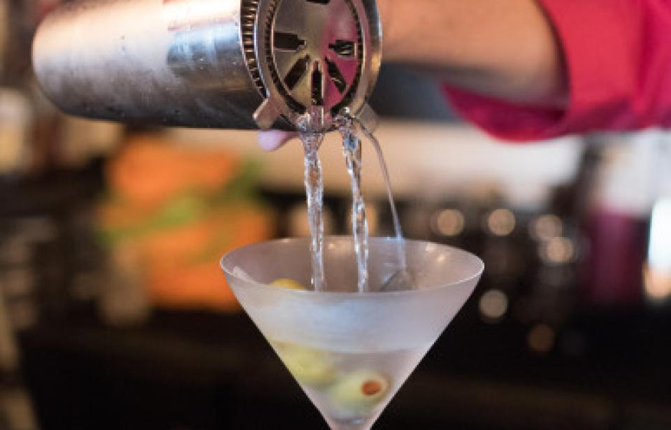Martini - We have a full bar