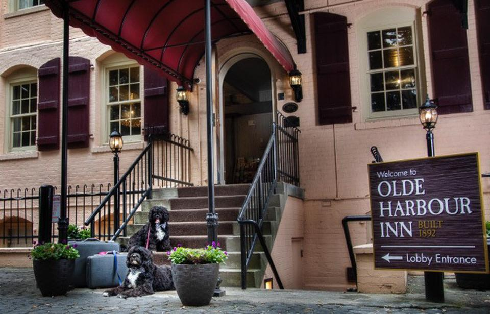 Olde Harbour Inn - Savannah's #1 pet-friendly hotel. Located directly on River Street.