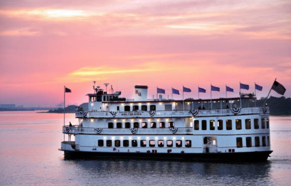 Savannah River Queen - Sunset