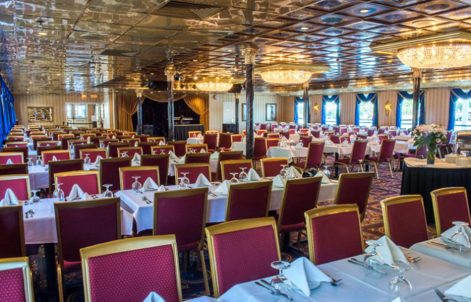 Banquet aboard the Savannah Riverboat