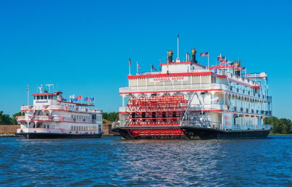 Two Savannah Riverboats