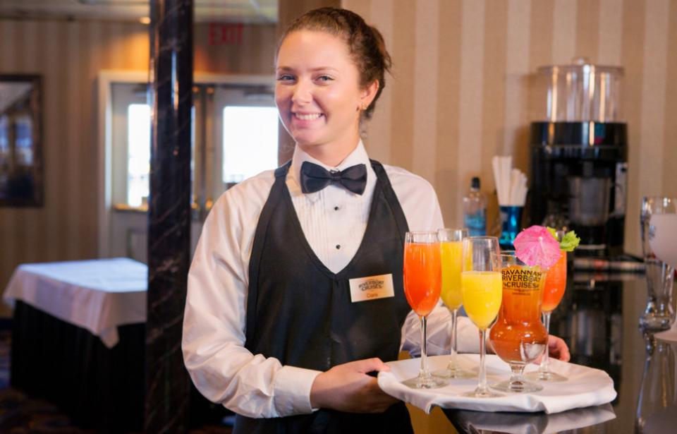 Waitress with Cocktails