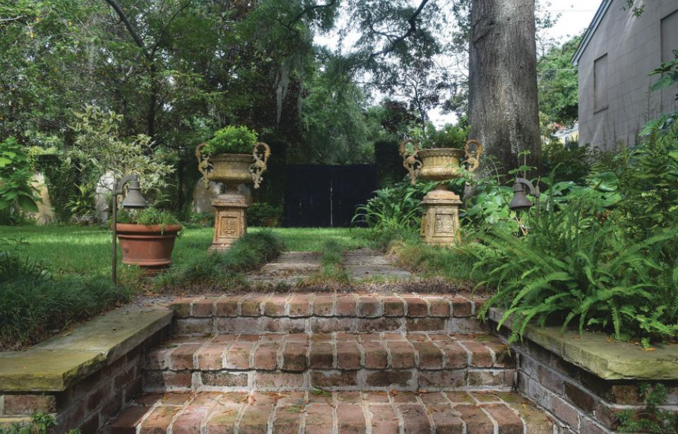 Garden Steps - Invitation to enter the Hidden Gardens in April 2020 Tickets available online.