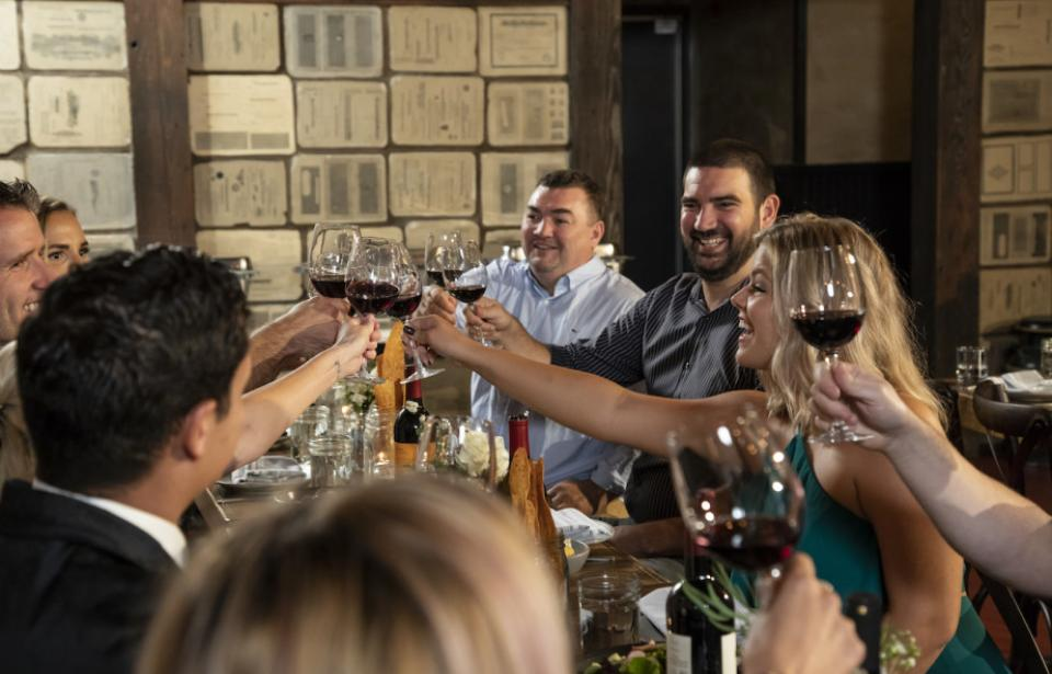 "There's always a good reason to ""Cheers"" when you host your event at Prohibition!"