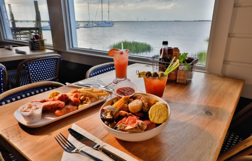 The Wharf offers up delicious seafood and lowcountry favorites!