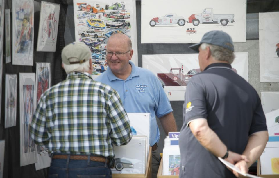 Vendors Row - The Savannah Speed Classic offers fans a chance to shop locally in our Vendors Row.