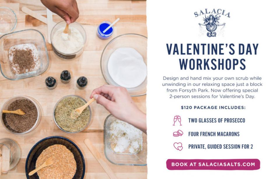 Valentine's Day workshops