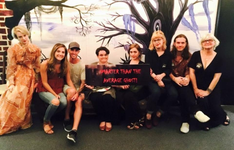 """We Escaped With Our Lives"" - With soles intact these team made it out in time......"