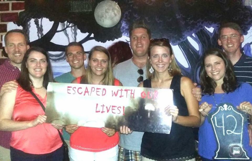 Smarter Than The Average Ghost - Another successful group made it out....Many are not as lucky....