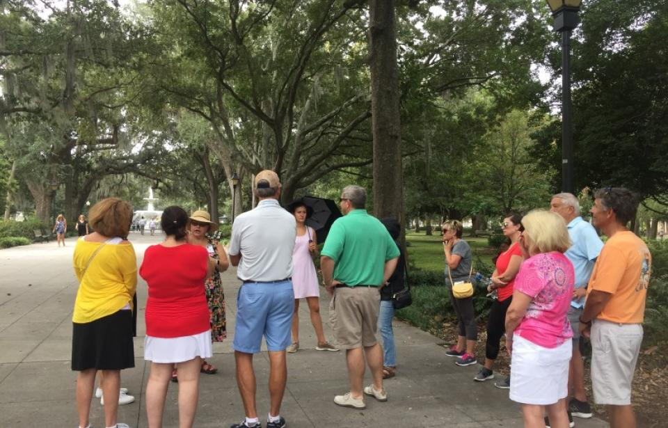 Forsyth Park - Our Historic Savannah Walking Tour ends in Forsyth Park.