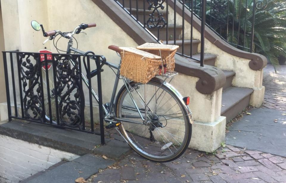 Savannah is bicycle friendly