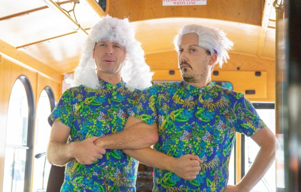 Savannah For Morons, The Trolley Tour : Moron Brothers