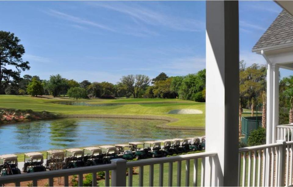 Savannah Golf Club Veranda