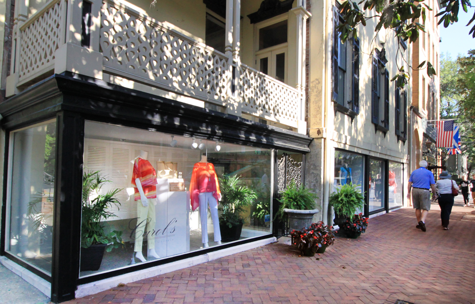 Carol's Savannah - Located at the corner of Bull & Liberty with free parking behind the store