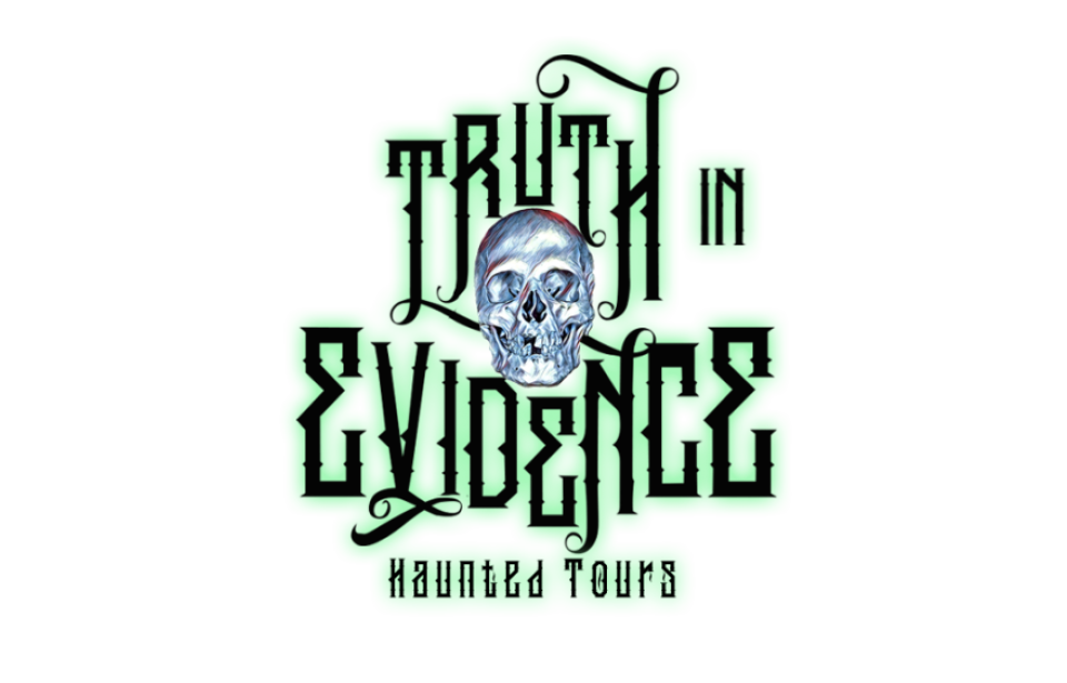 Logo - Truth In Evidence Haunted Tours Logo