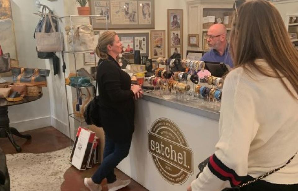 Sip n' Shop Savannah Tours - Oh, the choices to make at Satchel!