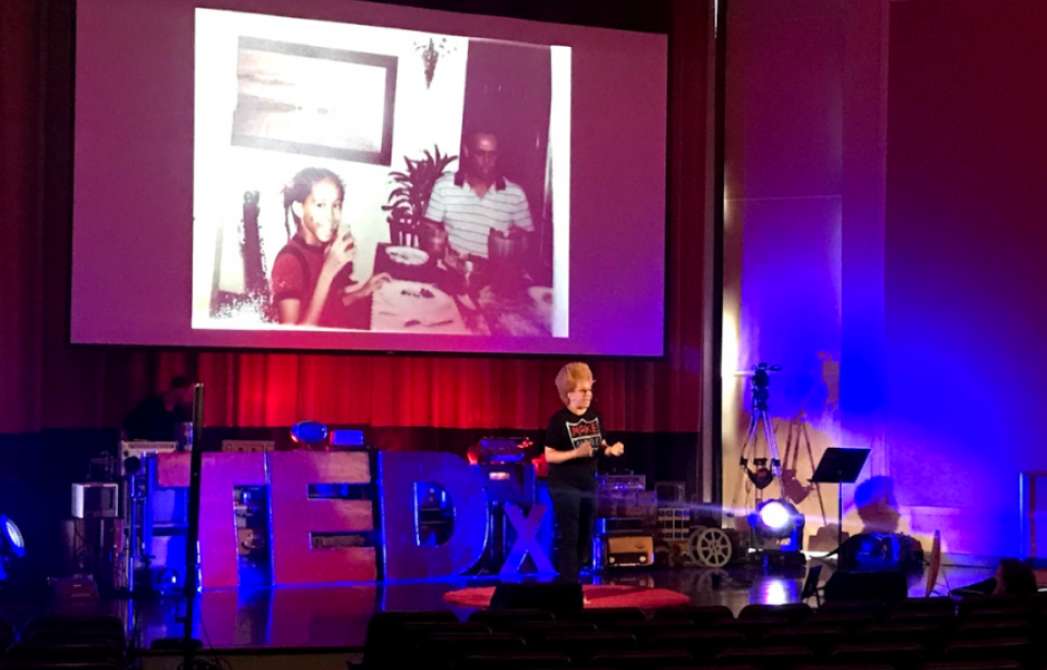Ted Talk 2018 - Aside from installation & Designs, we also do live events!
